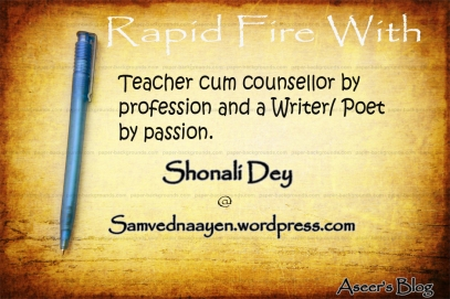 rapid fire with shonali